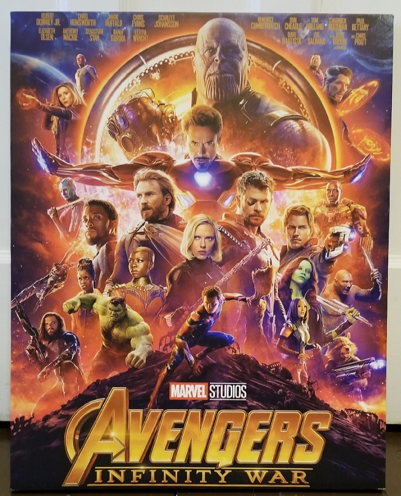 Infinity War Canvas Print poster