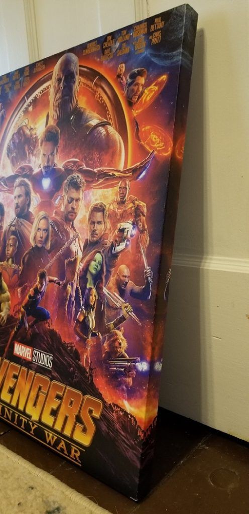 Infinity War Canvas Print side
