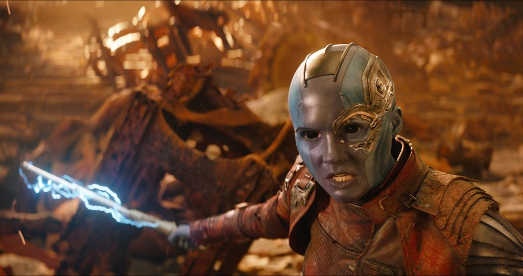 Infinity War Nebula