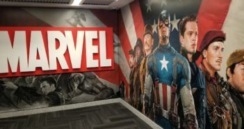 Marvel Studios Tour Captain America Elevator