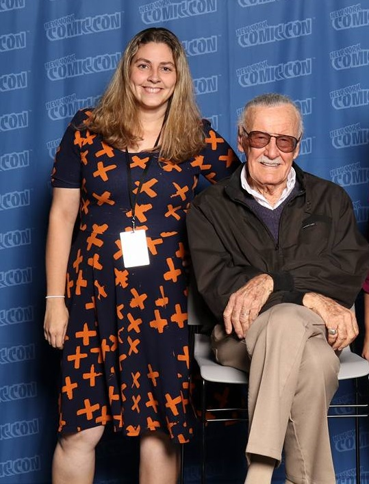 Me with Stan Lee