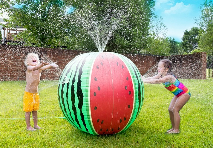 mega melon sprinkler ball