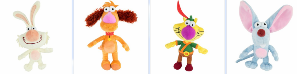 nature cat plushes TOMY