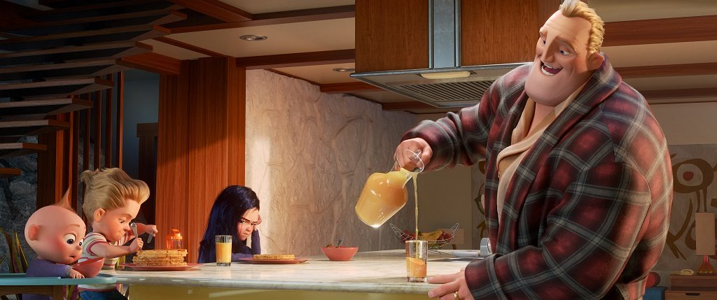 INCREDIBLES 2 Bob Parr Parenting