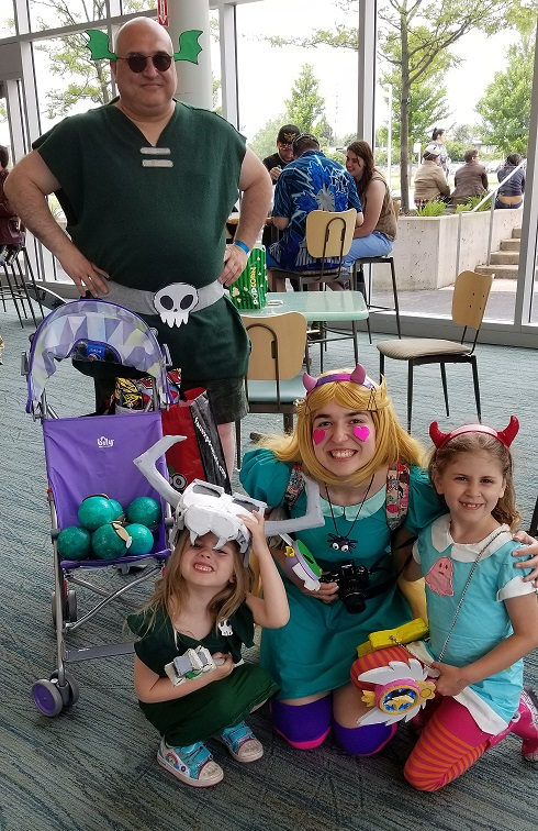 Star Vs. The Forces of Evil Cosplay