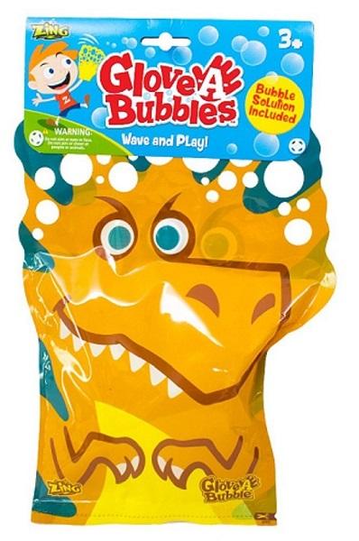 dinosaur glove-a-bubble