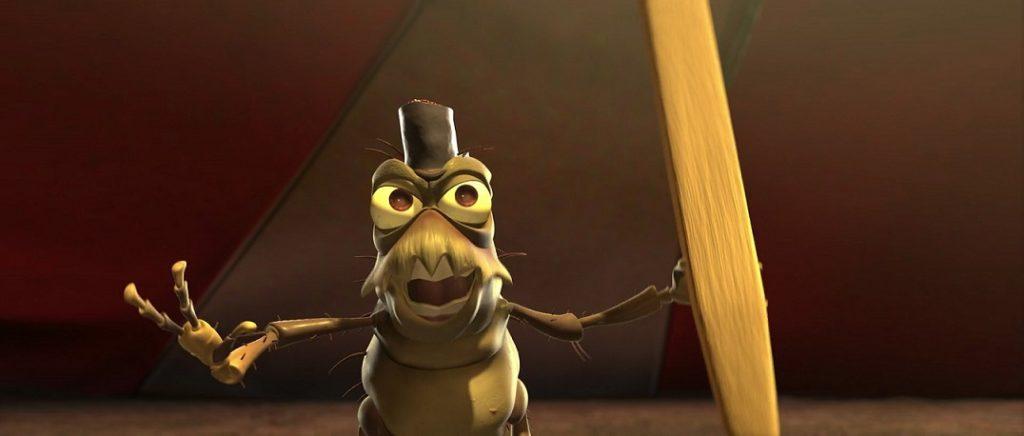 p.t. flea a bugs life John Ratzenberger