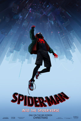 Sony Pictures Animation Spider-Man Into the Spider-Verse Poster