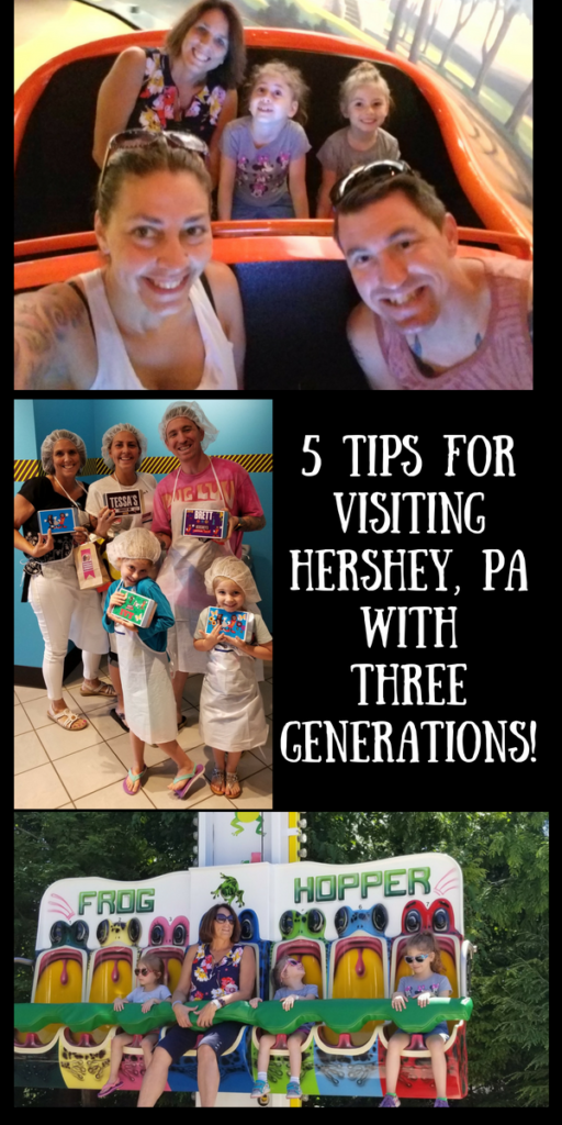5 Tips for Visiting Hershey, PA with Three Generations!