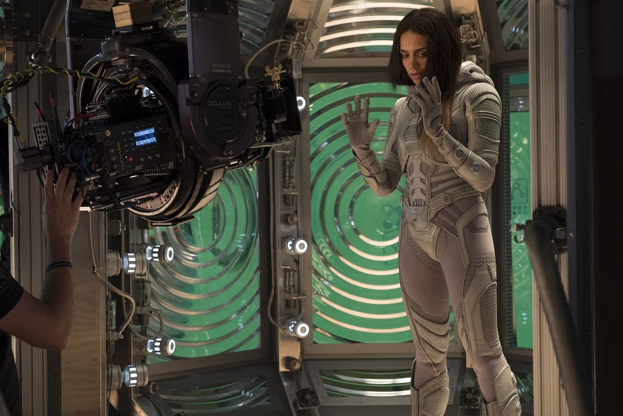 Ant-Man and The Wasp Ghost Hannah behind the scenes