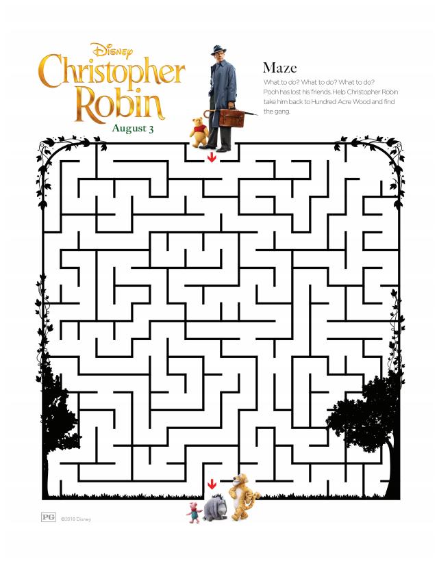 Christopher Robin Maze 1