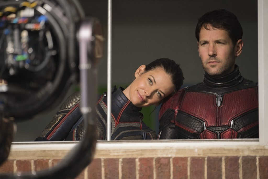 Evangeline Lilly and Paul Rudd Ant-Man and The Wasp Behind the Scenes