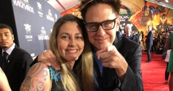 James Gunn Thor Ragnarok Red Carpet