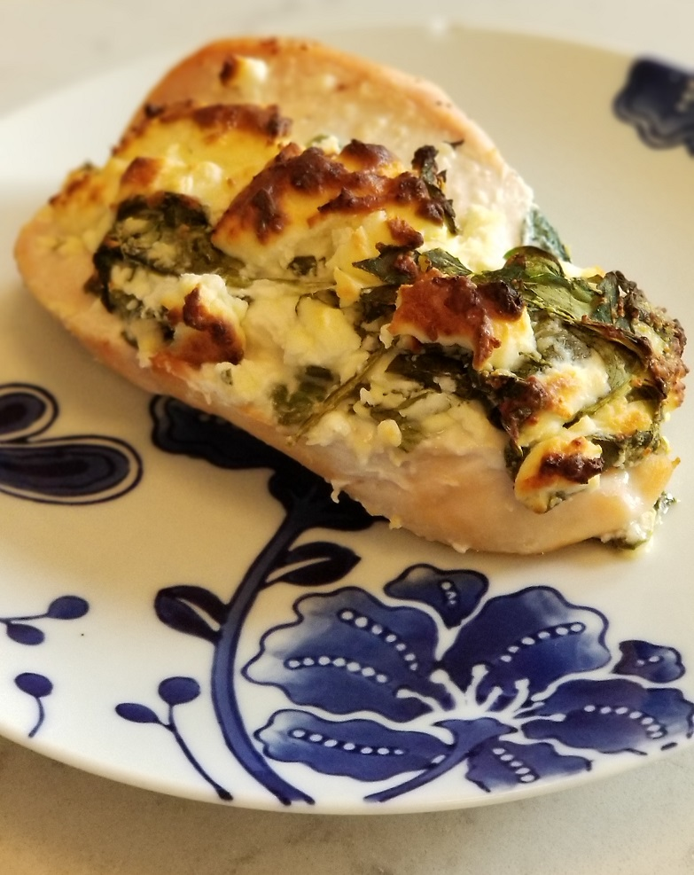 Keto Approved Spinach Stuffed Chicken Breasts