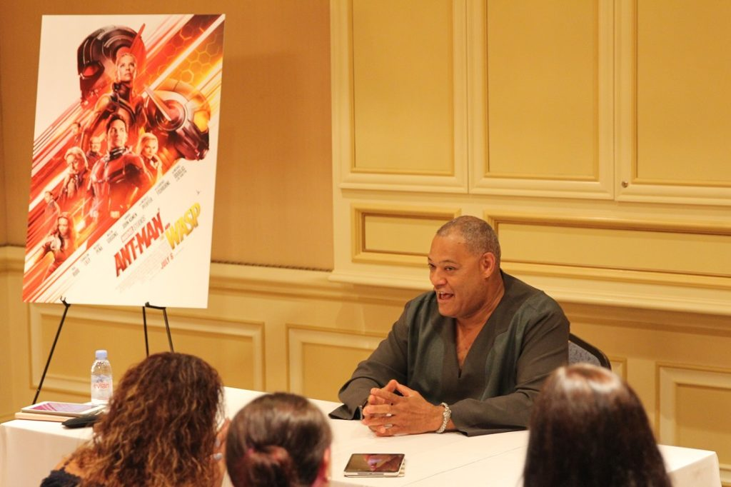 Laurence Fishburne Ant-Man and The Wasp Interview