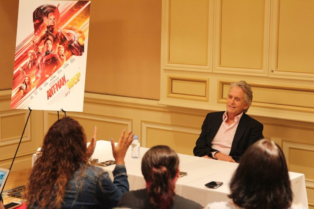 Michael Douglas Ant-Man and The Wasp Interview