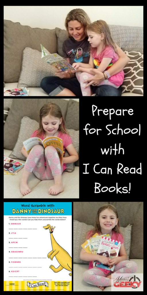 Prepare for School with I Can Read Books!