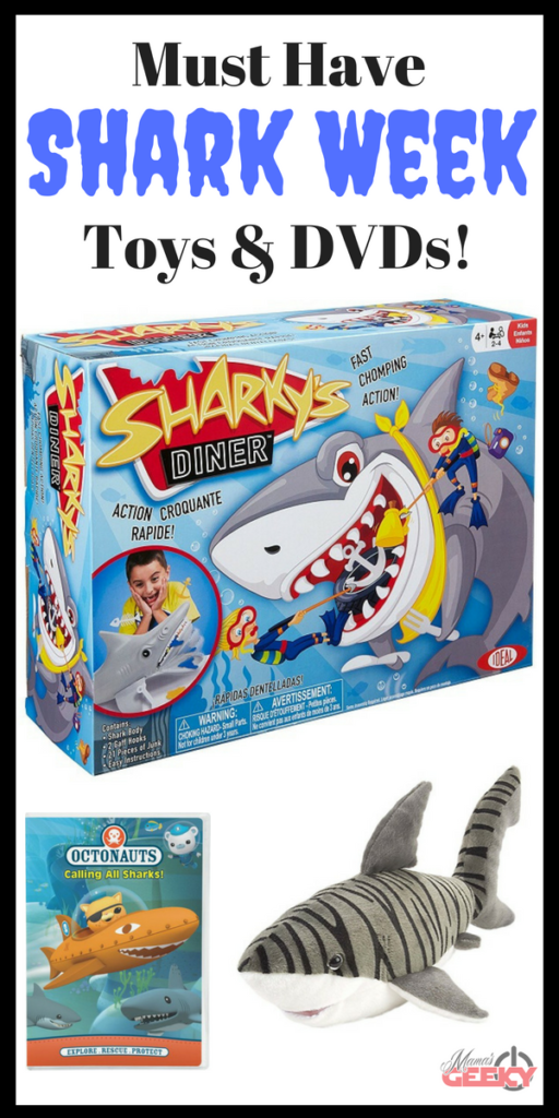 Shark Week Giveaway and must have toys and dvds