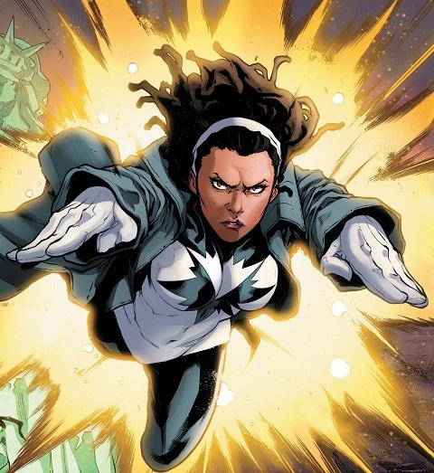 Spectrum Captain Marvel Monica Rambeau