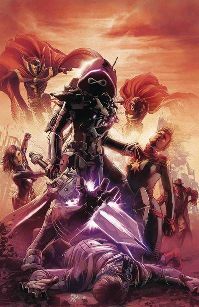 marvel infinity wars comic