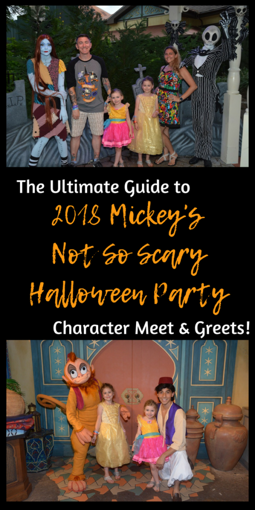 2018 mickey's not so scary halloween party meet and greet guide