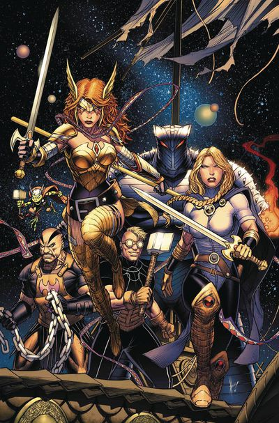 Asgardians of the Galaxy comic book 1