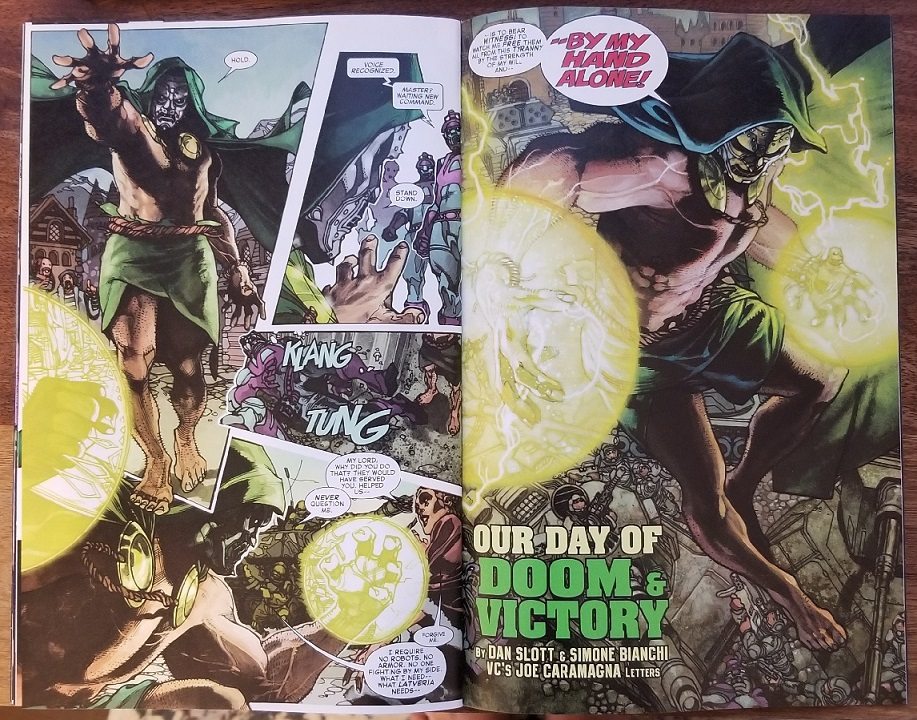 Doctor Doom Fantastic Four #1