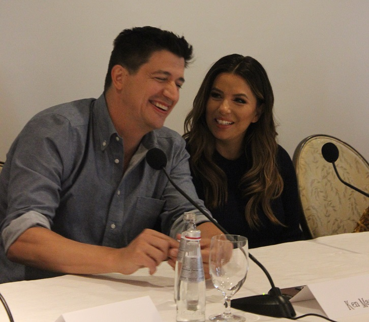 Dog Days Cast Interview Ken Marino Eva Longoria