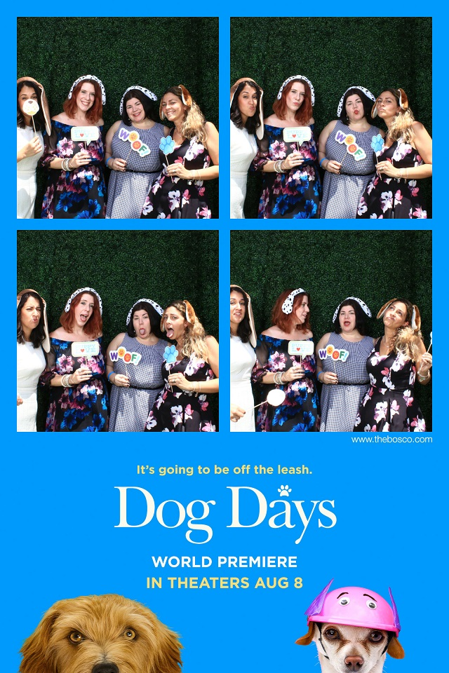 Dog Days Premiere Photo Booth