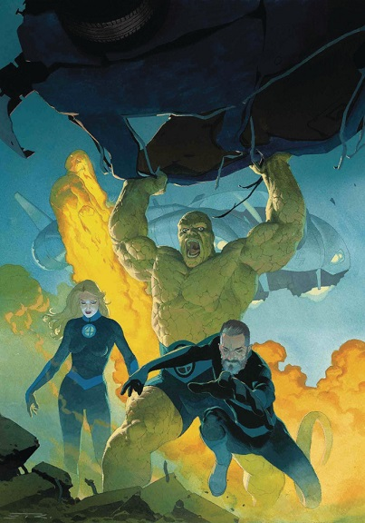 Fantastic Four Comic Book