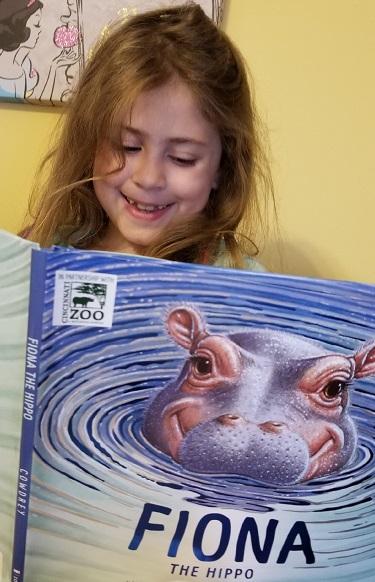 Fiona the Hippo Book Cincinnati Zoo