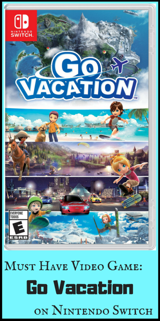 Go Vacation video game review