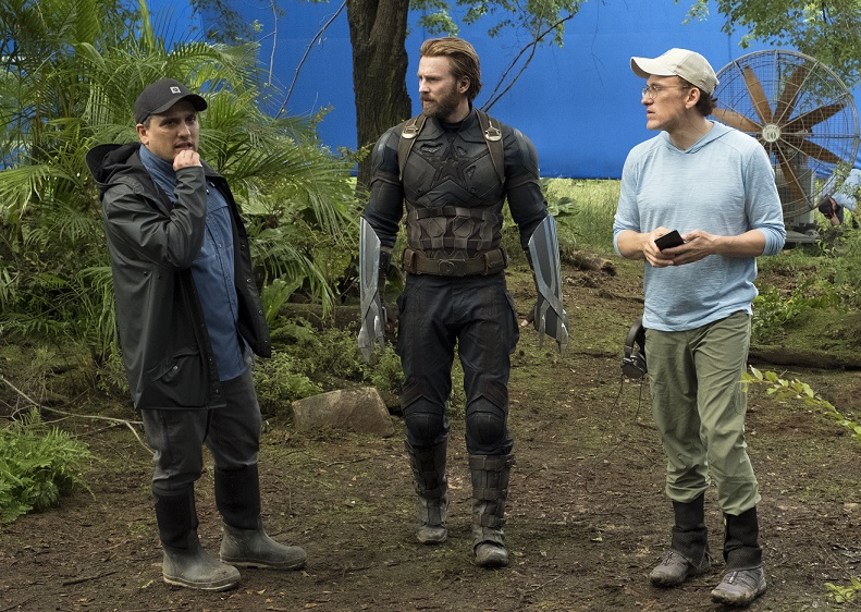 infinity war behind the scenes