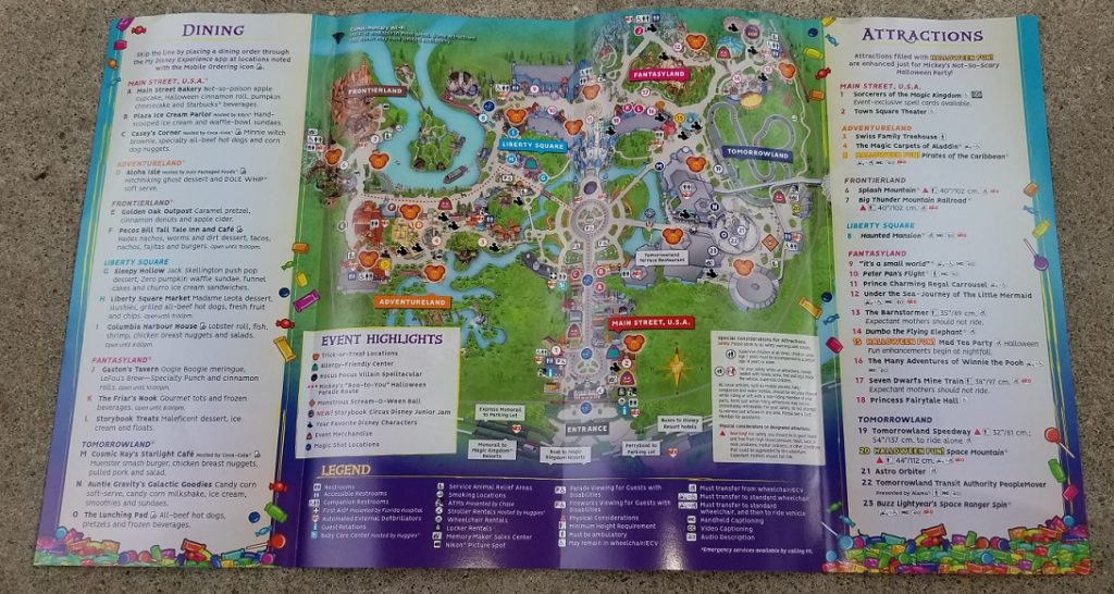 Mickeys Very Merry Christmas Party 2018 Map.Guide To The 2018 Mickey S Not So Scary Halloween Party Meet