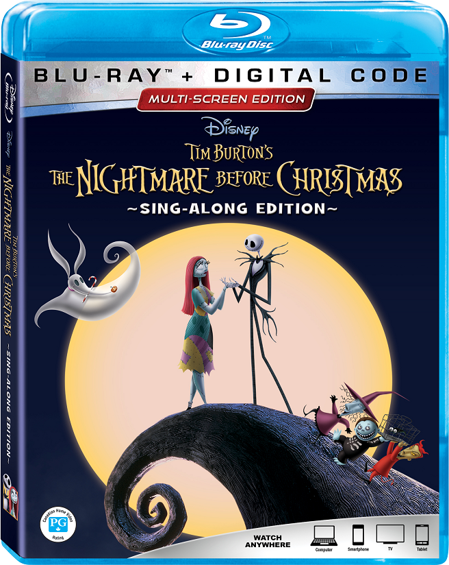 the nightmare before christmas 25th anniversary blu-ray