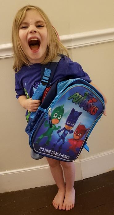 PJ Masks Backpack great for back to school