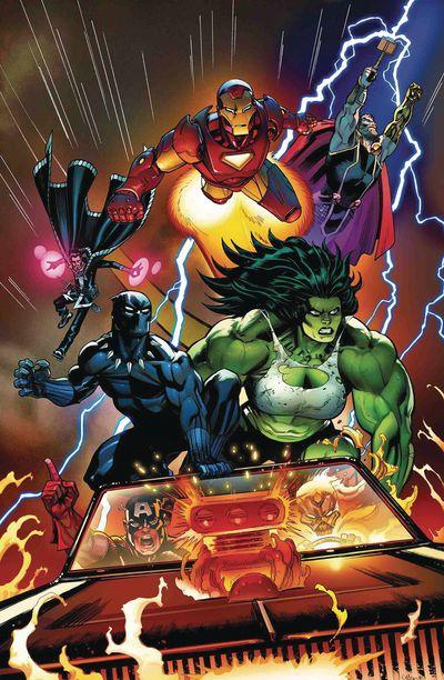 avengers 6 comic book