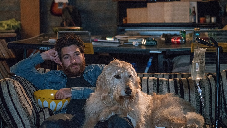 dog days movie still adam pally