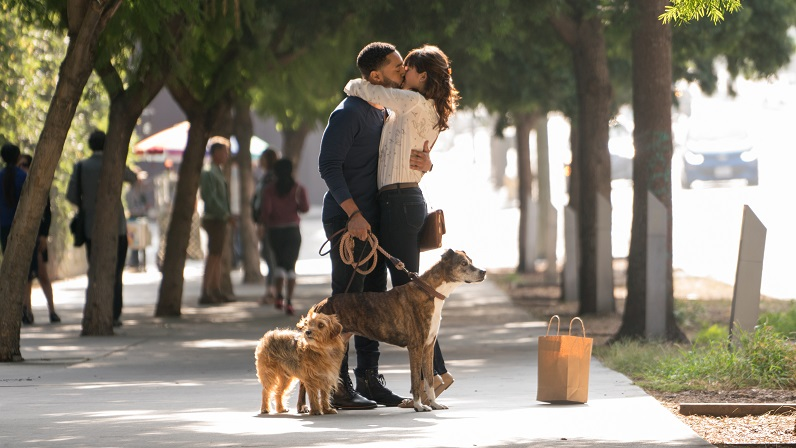 dog days movie still tone bell and nina dobrev