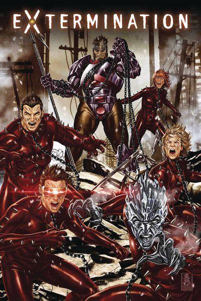 extermination 2 comic book