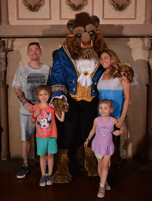 Be Our Guest Beast meet and greet