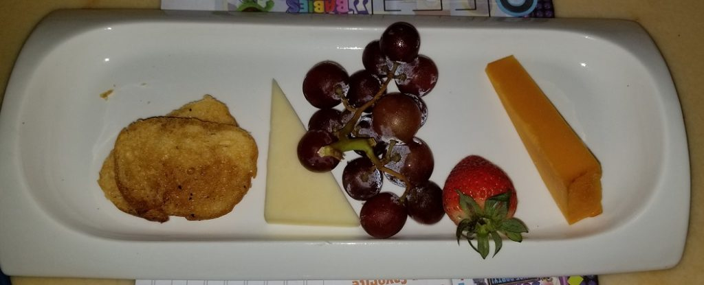 Be Our Guest Kids Fruit and Cheese Plate Appetizer