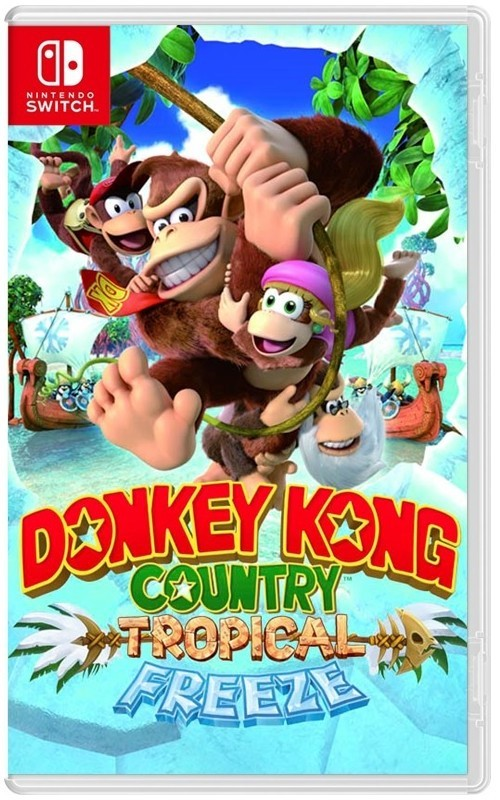 Donkey Kong Country Switch Case