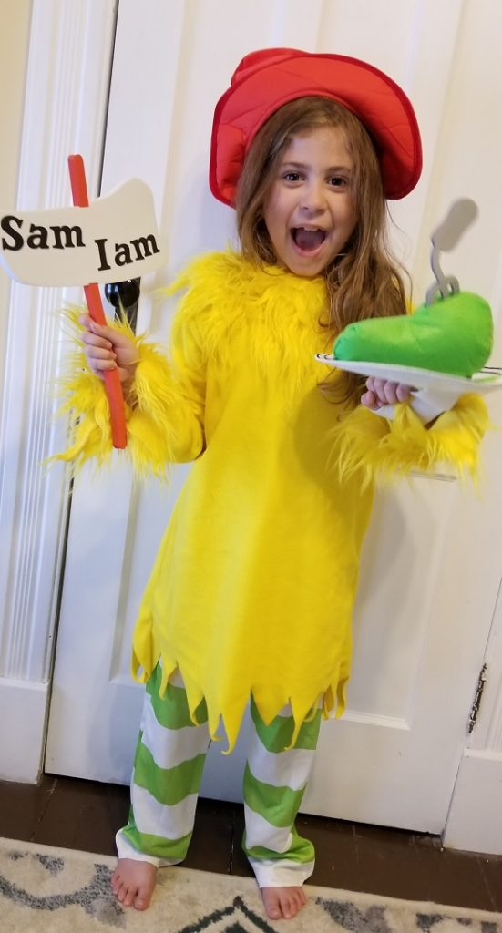 Dr. Suess Sam I Am Halloween Costume 2