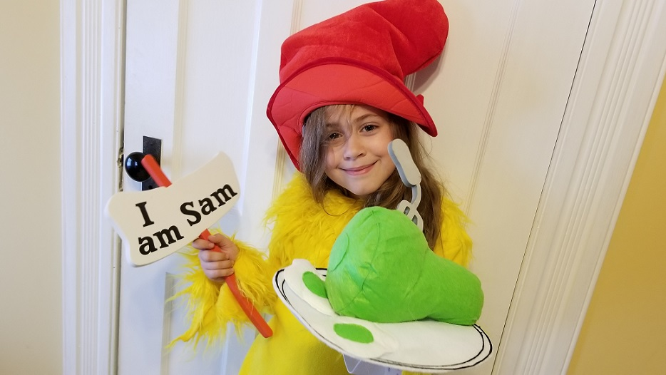 Dr. Suess Sam I Am Halloween Costume