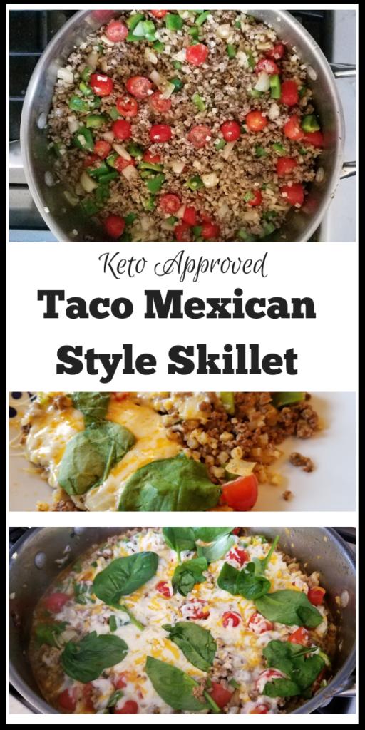 Keto taco skillet recipe