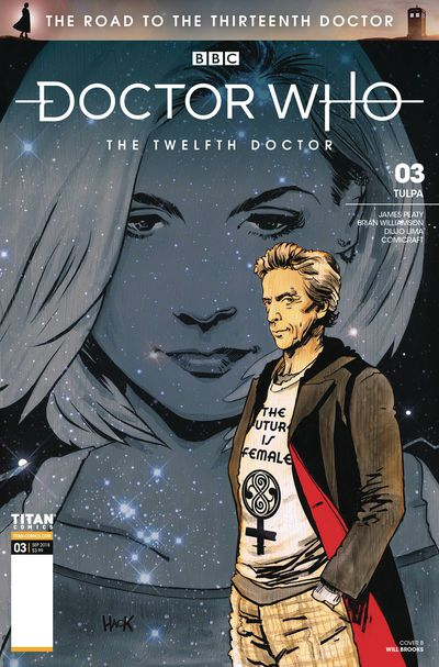 Doctor Who: Road to the thirteenth doctor comic book