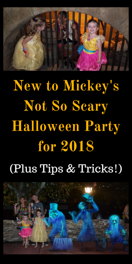 New to Mickey's Not So Scary Halloween Party for 2018