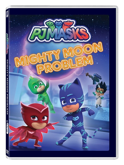 PJ Masks: Mighty Moon Problem features six super episodes all kids are sure to love!