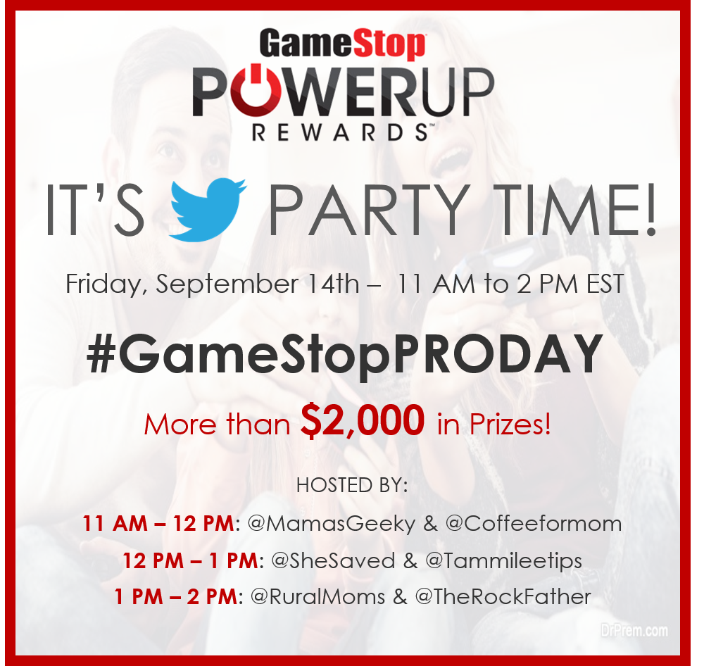 pro day gamestop twitter party